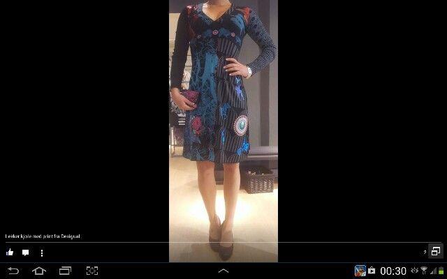 Desigual kjole <3