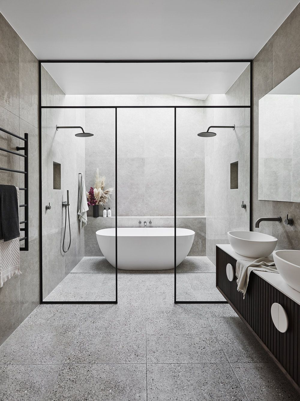 New Renovation Edition Is Here Adore Home Magazine Modern Small Bathrooms Master Bathroom Design Large Bathrooms