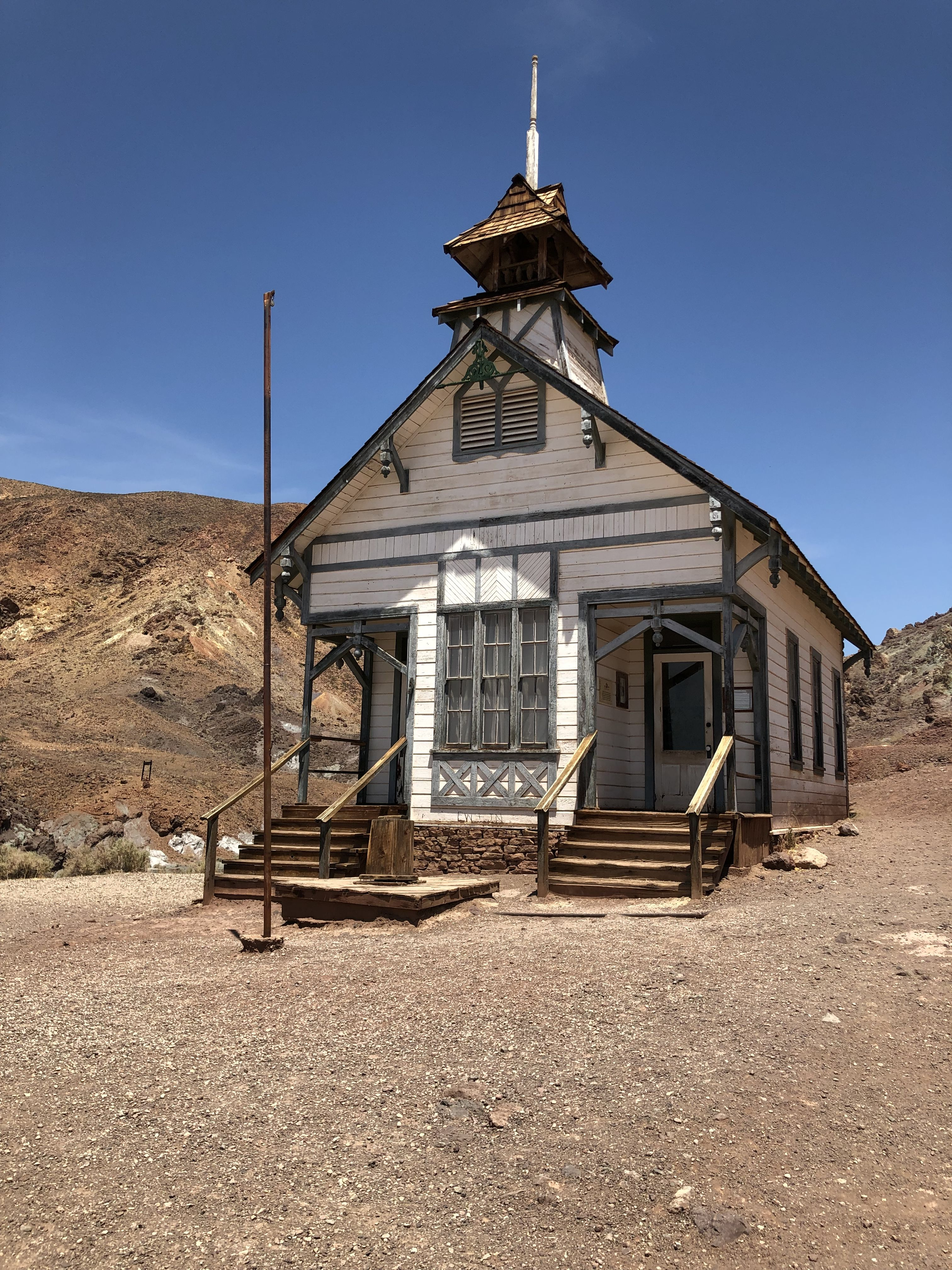 Schoolhouse calico Calico ghost town, Ghost towns