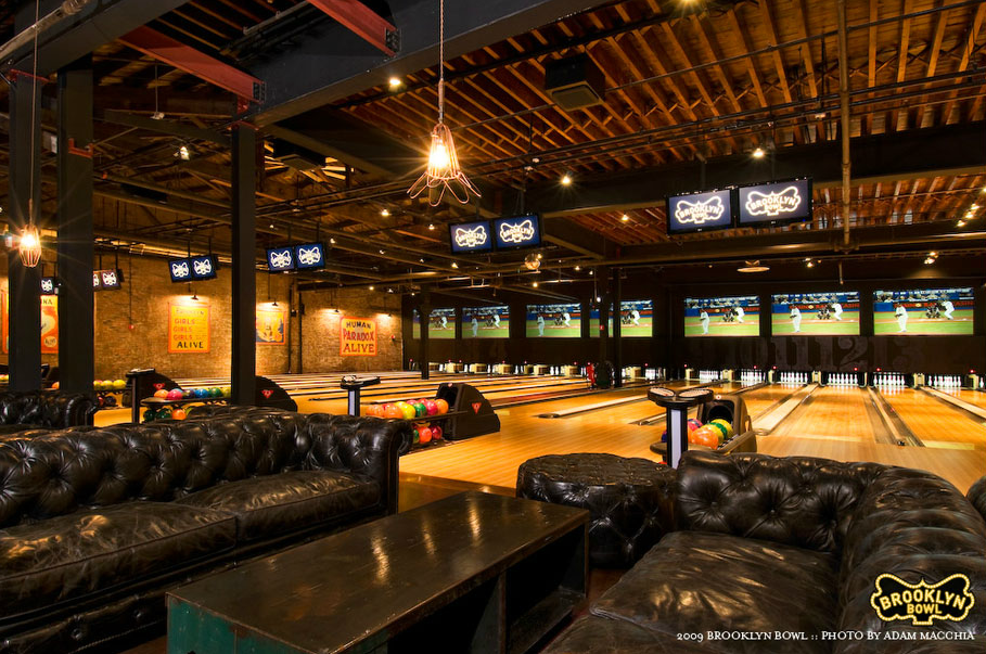 Brooklyn Bowl Tristam Steinberg Designs Boutique Bowling Alley Lanes Home Bowling Alley Brooklyn Bowl Bowling