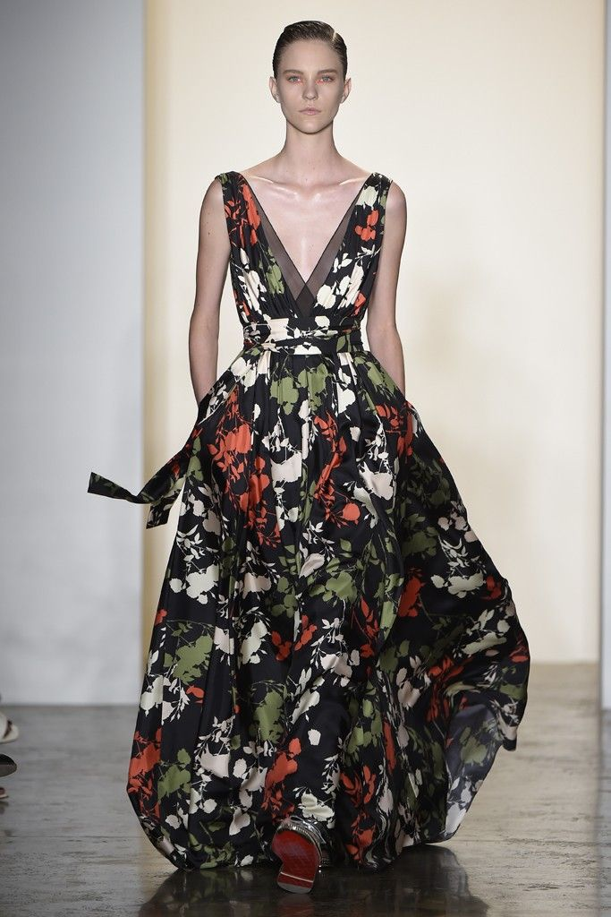 Peter Som RTW Spring 2015 [Photo by Giovanni Giannoni]