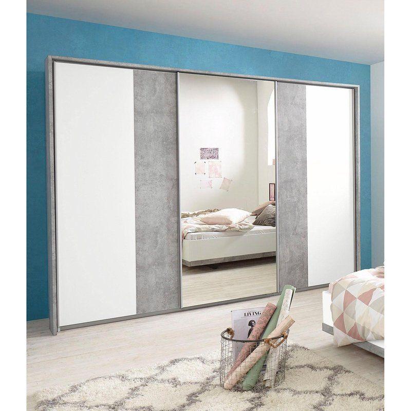 Armoire Coulissante Miroir Armoire Dressing 3 Portes Coulissantes