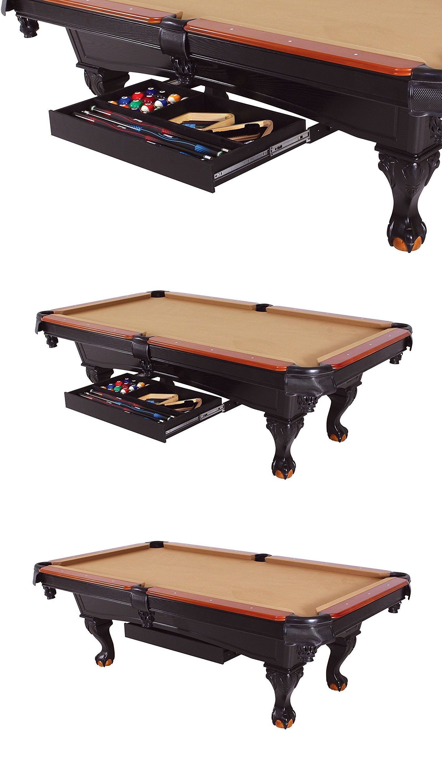 Ball and cue racks 75185 universal pool billiard table