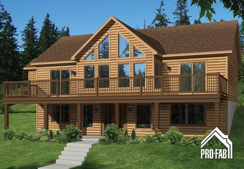 pro fab constructeur de maisons modulaires usin es pr fabriqu es mod le sitelle d co. Black Bedroom Furniture Sets. Home Design Ideas