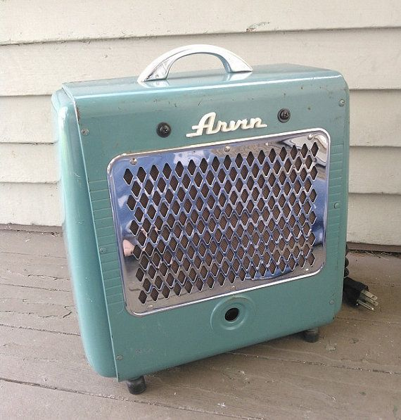 Repurposed Upcycled Vintage Space Heater Converted Amp