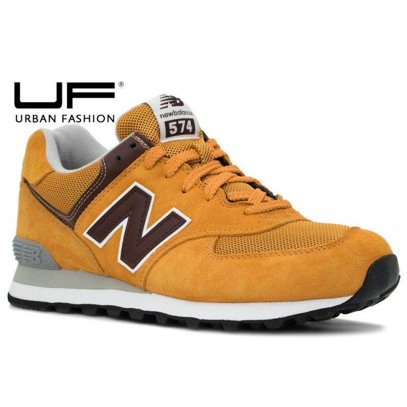 new balance ml574 amarillo