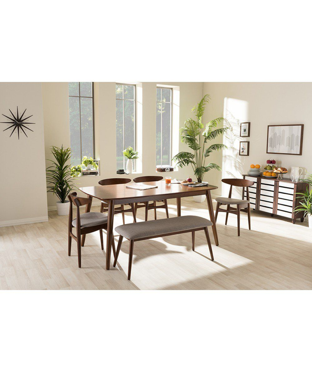 Crafted From Sumptuous Medium Oak Ash Veneer, The Flora Dining Set Brings A  Warm Feel To An Interior Pairing With A Wide Variety Of Modern And  Classical ...