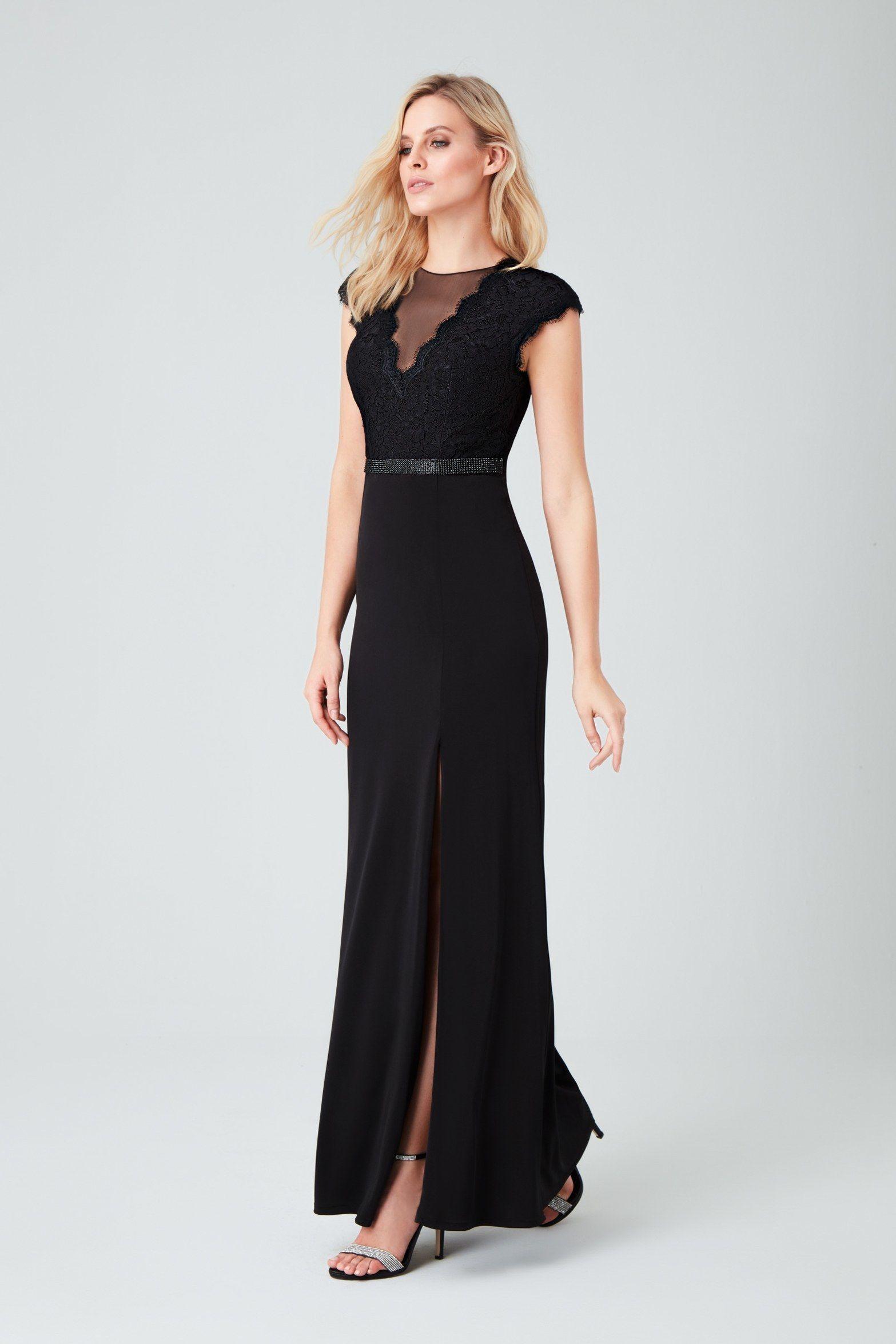 0e65e83b7b7a3 Lila Kısa Kollu Dantelli Uzun Abiye Elbise Modelini İster Online  İnceleyerek Satın Alın, İster Mağazamızı