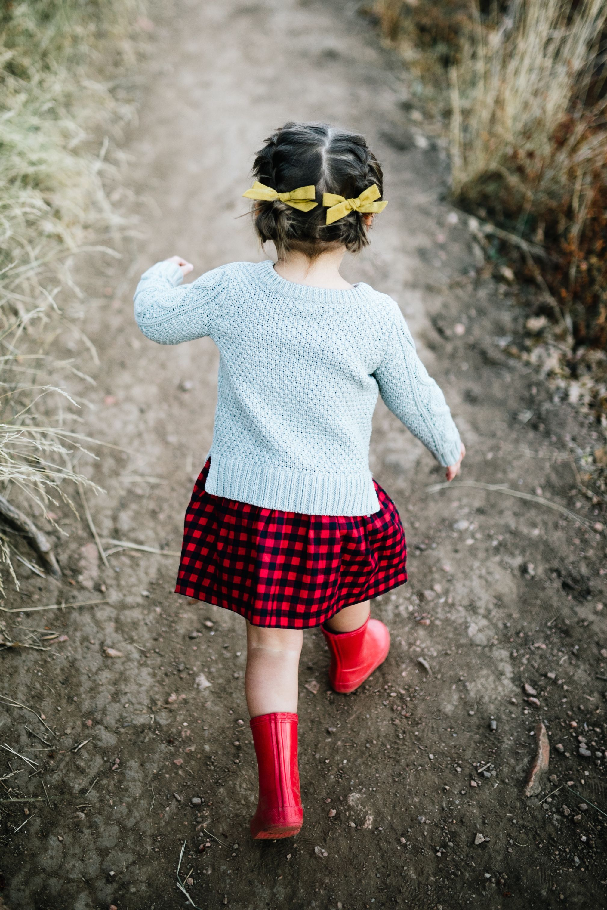 Winter Wheat Pigtail Set By Free Babes Handmade X Soor Ploom The Perfect Hair Bows To Compliment Your Little Girls Adventurous Style