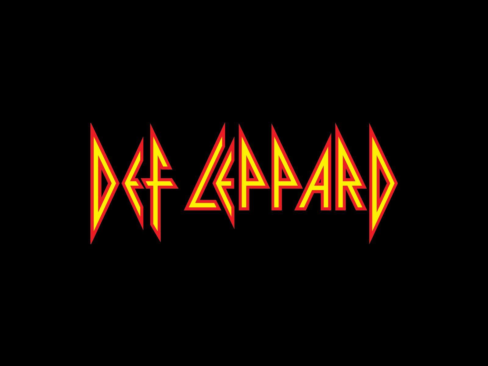 Def Leppard Logo Rock Band Logos Metal Band Logos Def Leppard