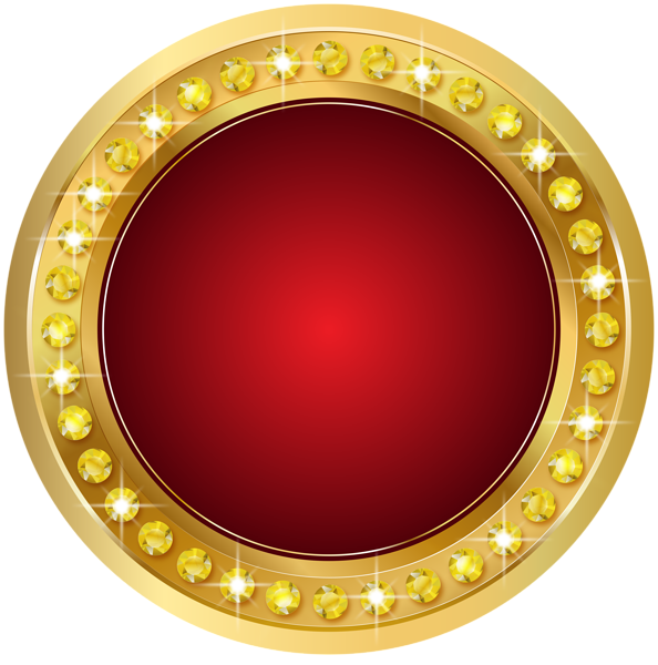 Seal Gold Red PNG Transparent Clip Art Image Art images
