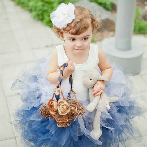 Love the blue tutu