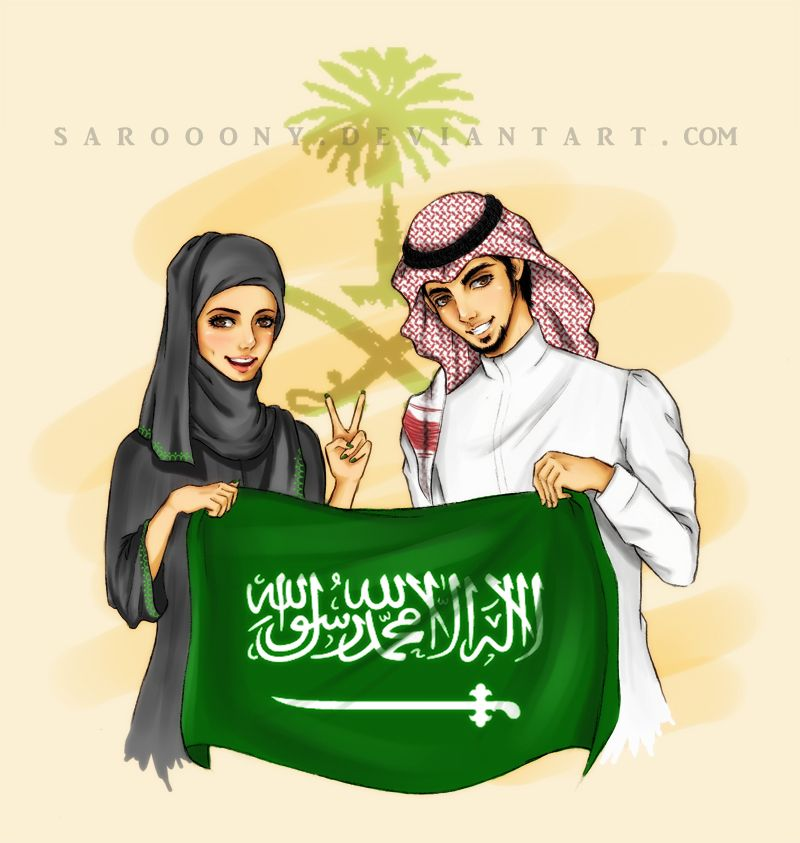 Ksa Day By Sarooony On Deviantart Girly M National Day Saudi Saudi Arabia Flag