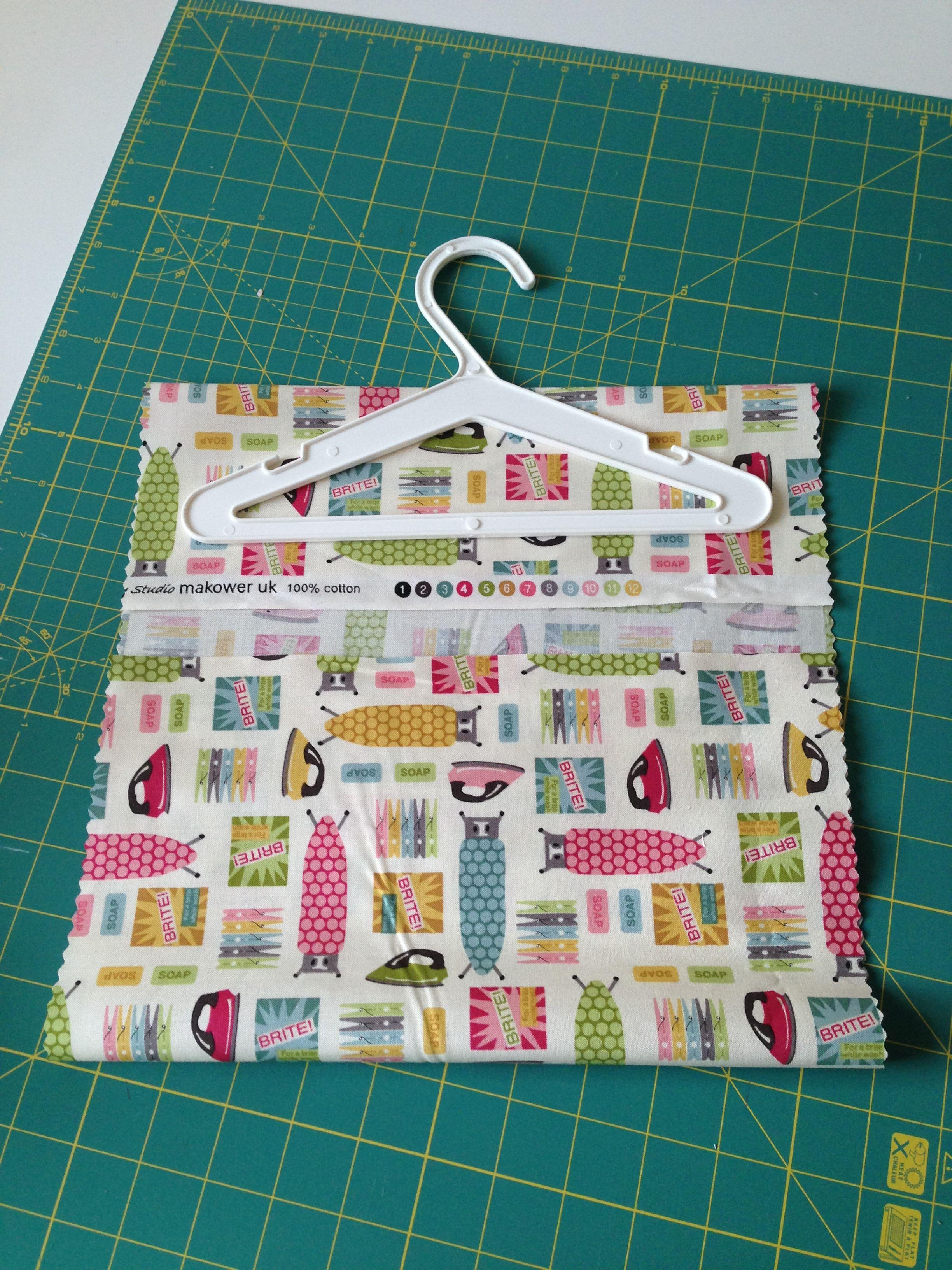 20 Minute Peg Bag Tutorial Peg bag, Clothespin bag