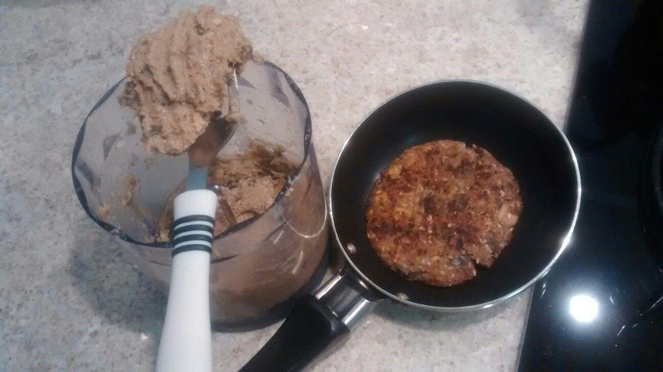 Massa de soja com berinjela para patê ou hambúrguer