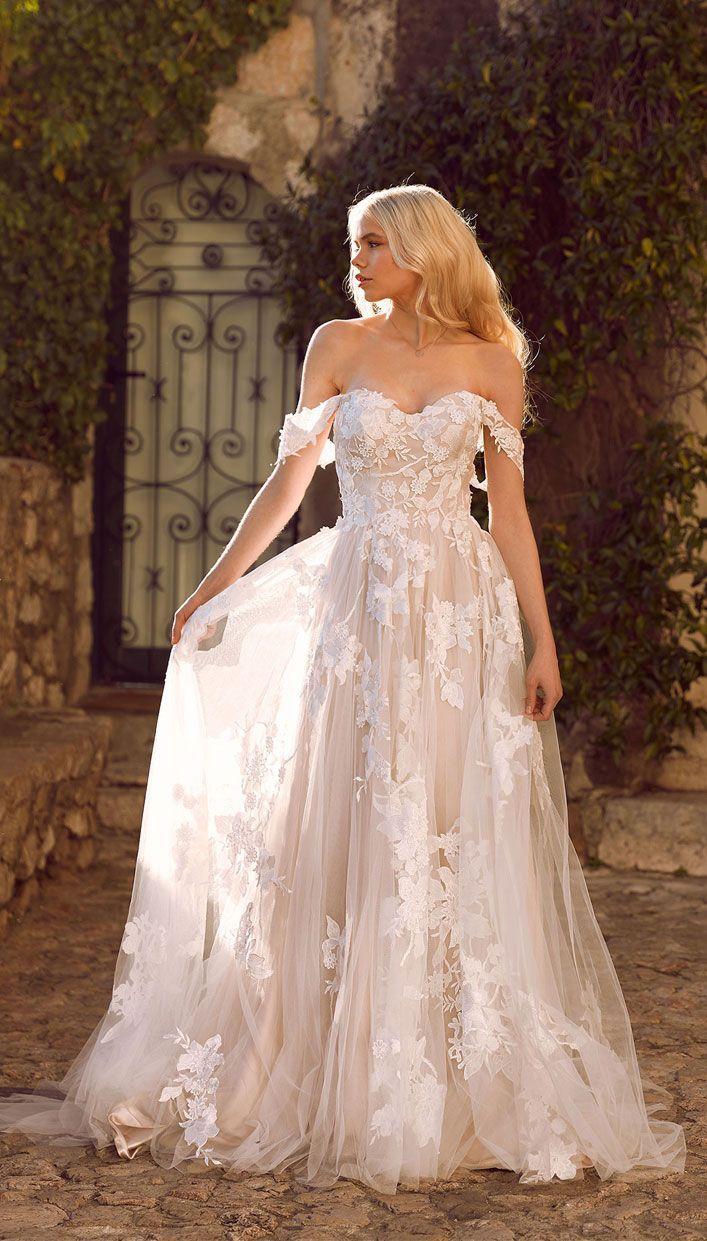 Erstaunliche Brautkleider für ultimative Gartenhochzeit – Weg von der Schulter … – New Ideas