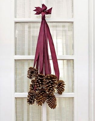 Old Fashioned Christmas Door Decoration Gonna Do This
