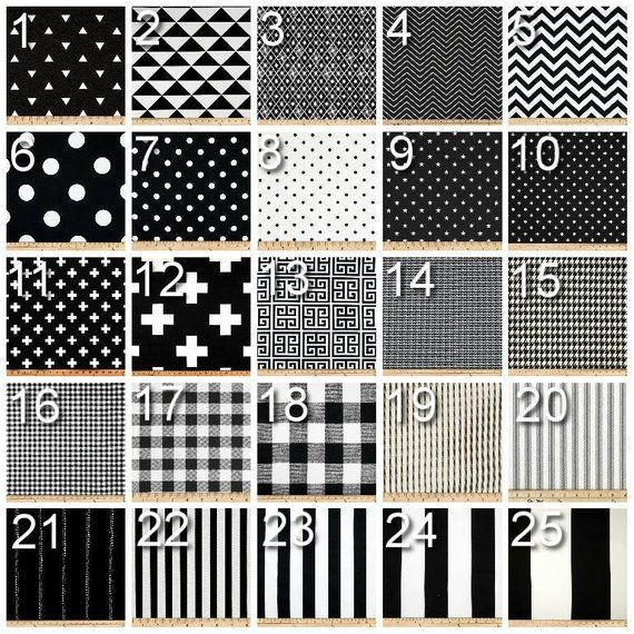 Geometric Curtains Pair of Drapery Panels Black and White Curtains Black Bedroom Drapes Classic is part of bedroom Window Drapes - EXCHANGE POLICY BEFORE PURCHASING