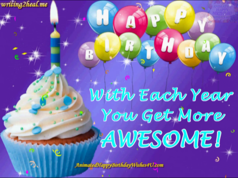 201 Free Download You Get More Awesome Hbday Wishes Animated Happy Birthday Wishes Happy Birthday Wishes Birthday Greetings