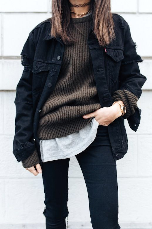 Protected Blog › Log in #jeanjacketoutfits