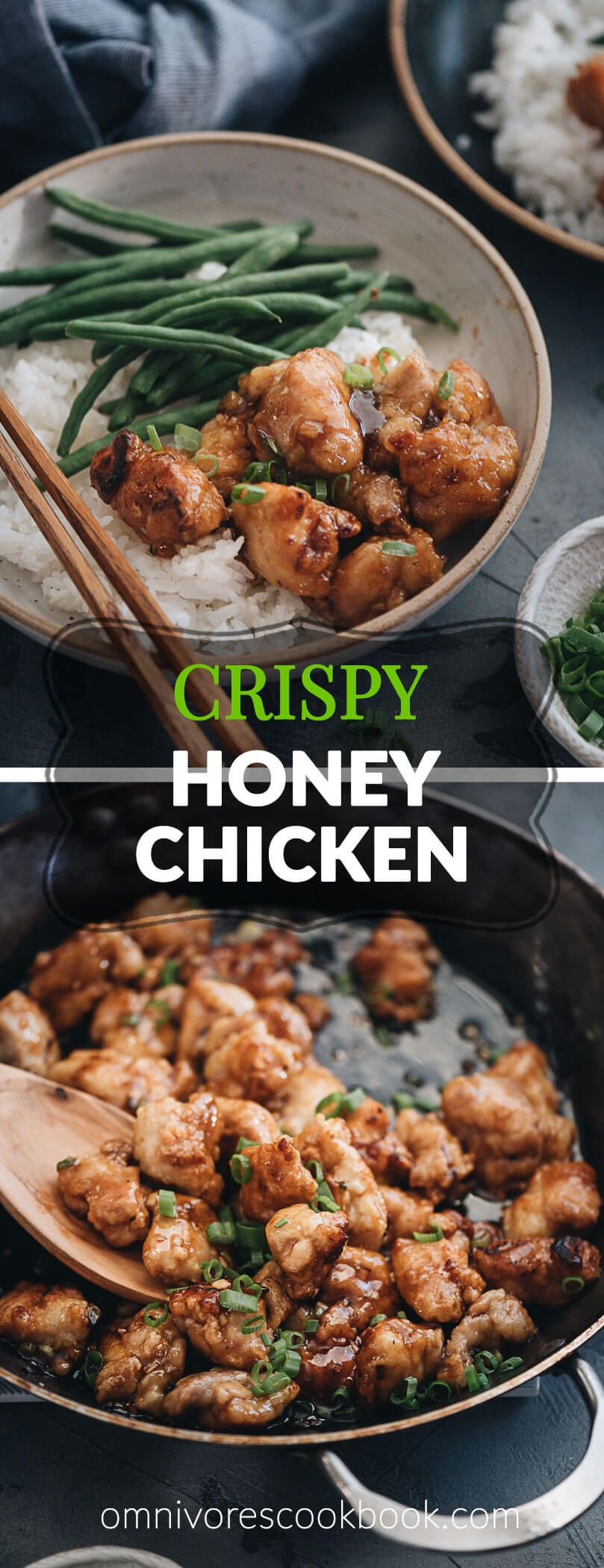 Photo of Crispy Chinese Honey Chicken (without Deep Frying) | Omnivore's Cookbook