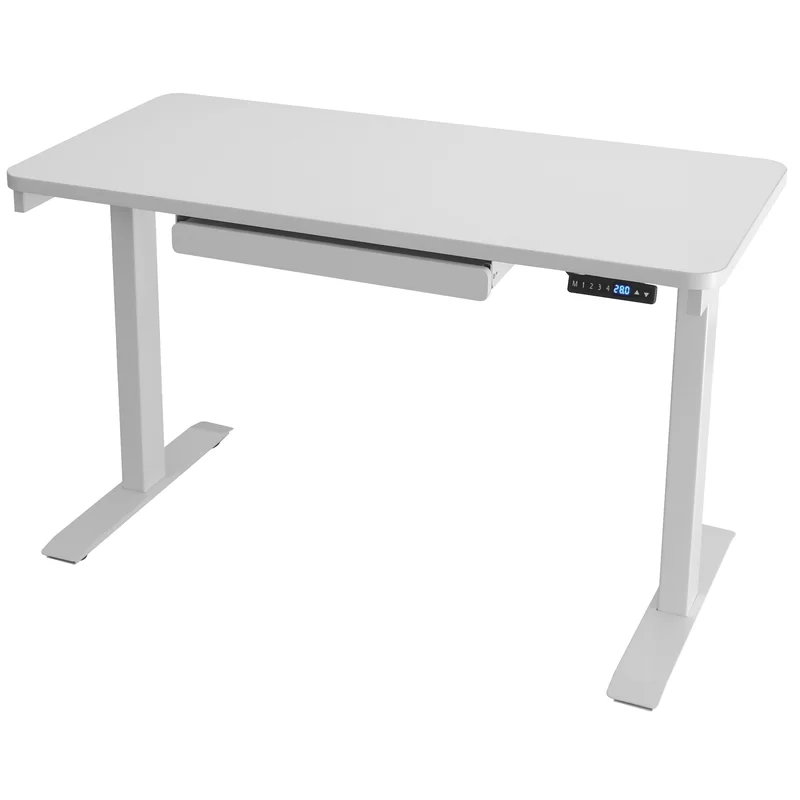 Sabine Electric Adjustable Standing Desk Reviews Allmodern