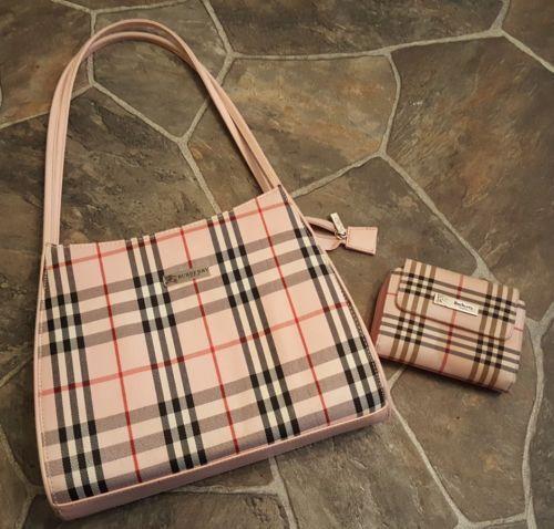 Burberry Pink Plaid Shoulder Handbag - The Best Handbag Of 2018 c172448a18f58
