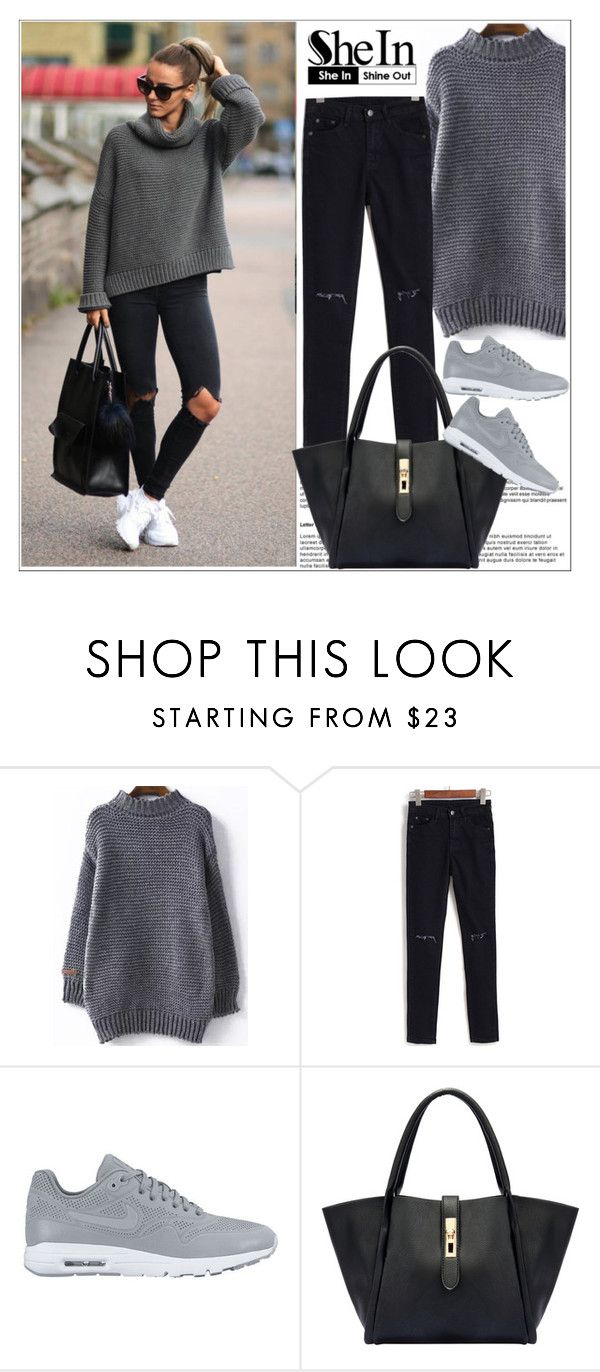 """Shein.com 5"" by aida-nurkovic ❤ liked on Polyvore featuring NIKE and Sheinside"