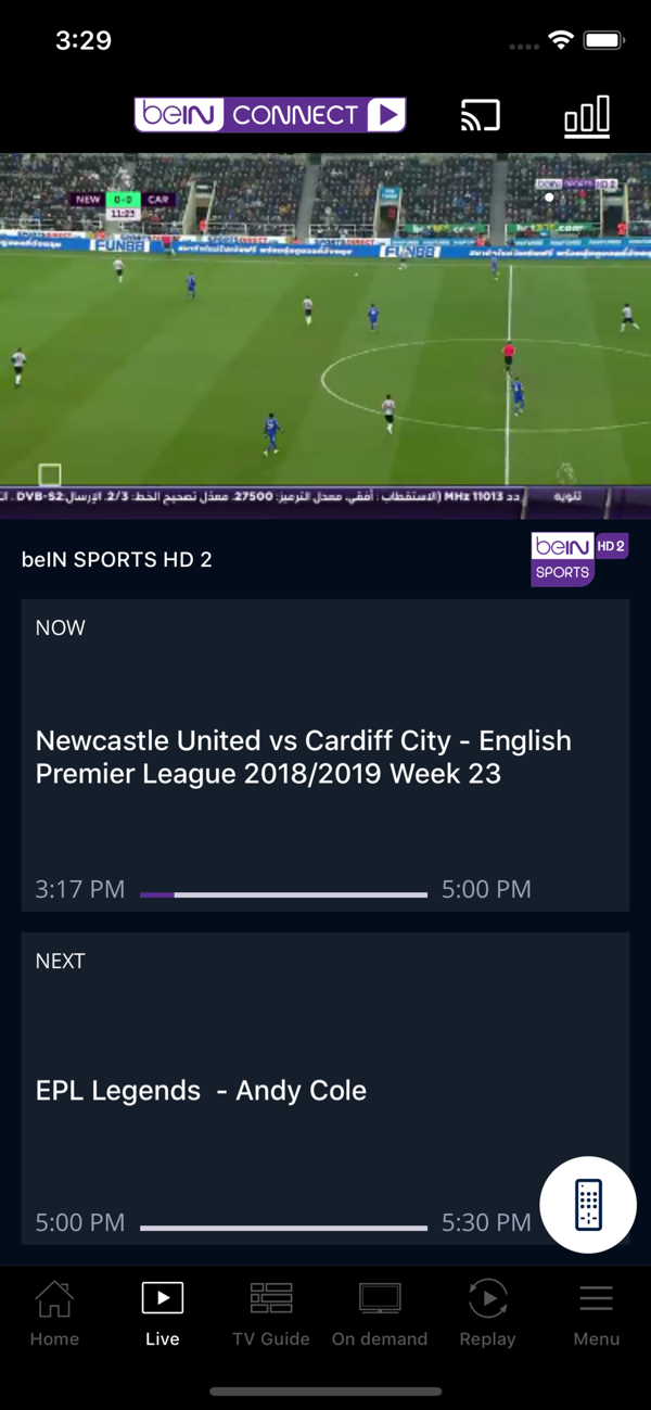beIN CONNECT on the App Store in 2020 Free tv channels