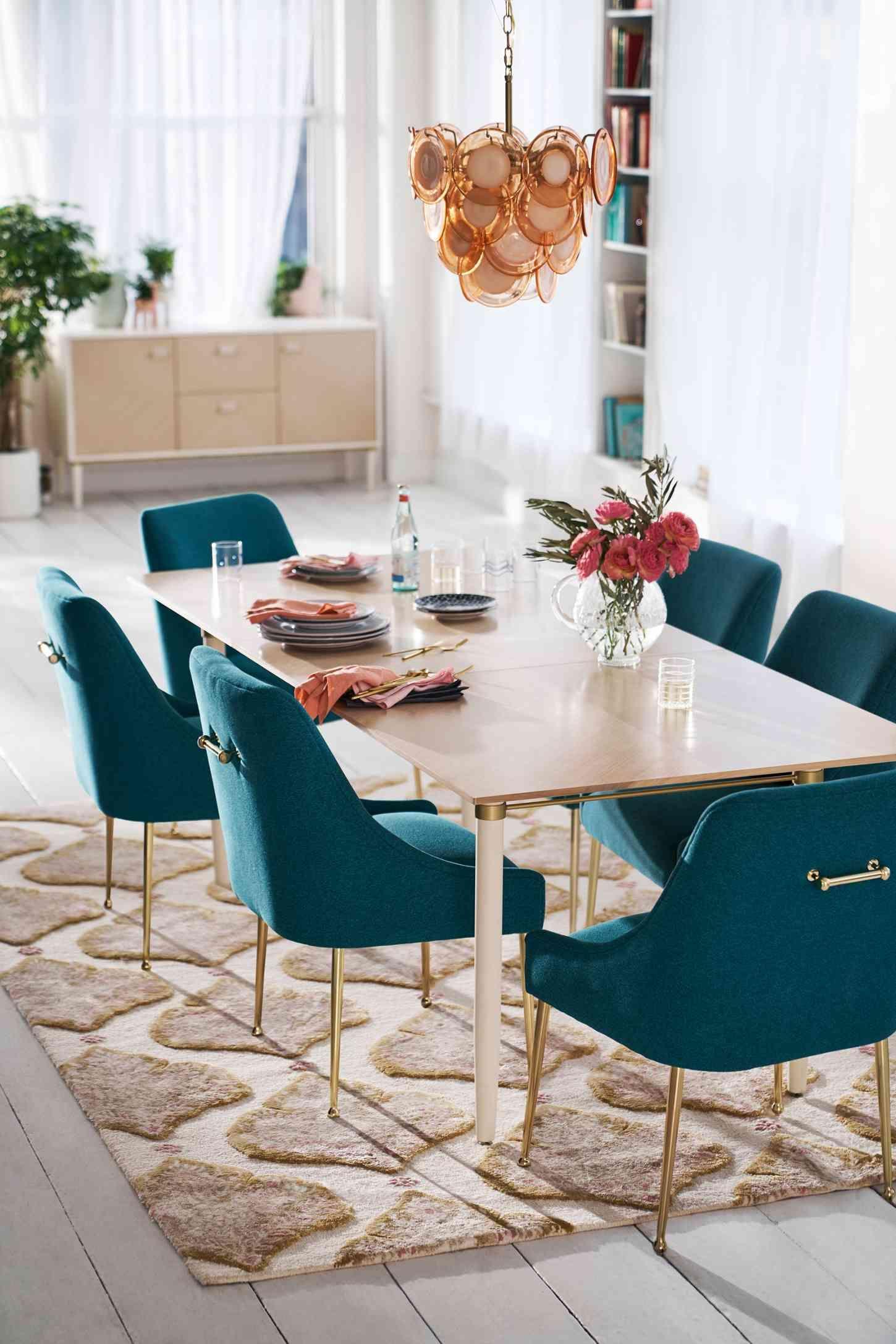 30 Vintage Retro Dining Table Design Ideas In 1950s Retro Dining