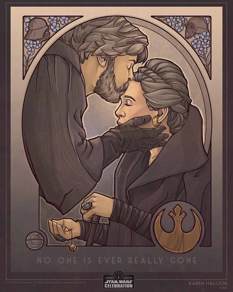 The Force is Strong With These Art Prints - Only Available at Star Wars Celebration Chicago - #- #Art #At #available. #Celebration #Chicago #FORCE #is #Only #Prints #star #Strong #the #These #WARS: #With