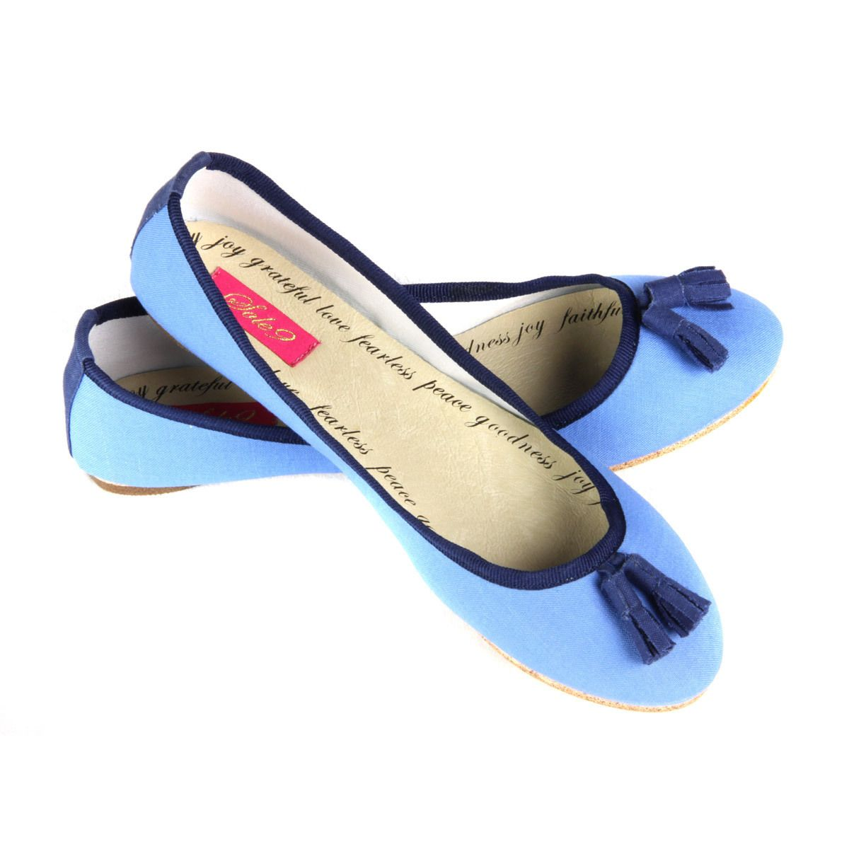 Sole9 Angel Ballet Collection Canvas Upper Flats