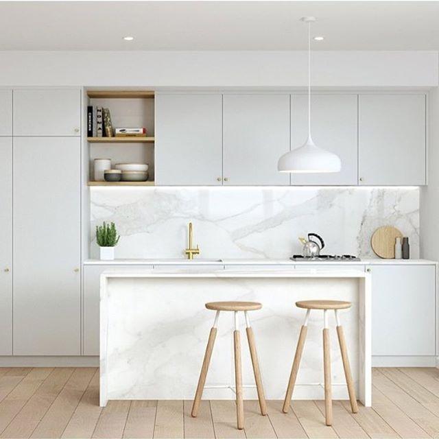 Atemberaubend Flat Pack Küchen Melbourne Australien Zeitgenössisch ...
