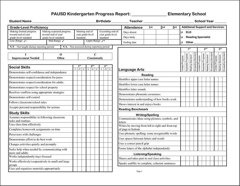 Grade R Report Template South Africa 15 Free Grade School Report Card Template On Tips Resu Report Card Template School Report Card Progress Report Template