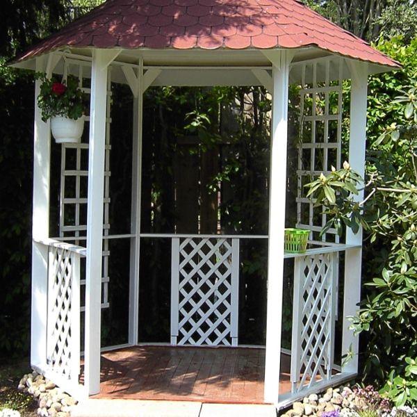 Gartenpavillon aus Holz bauen Garten pavillon, Holz