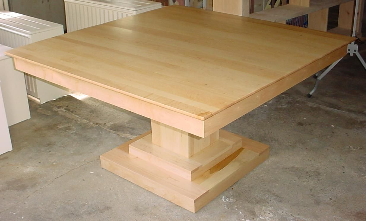 Modern Pedestal Table Bases