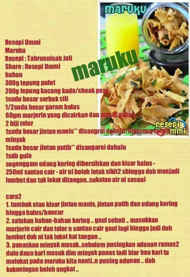 Maruku Homemade Recipes Dessert Recipes Food
