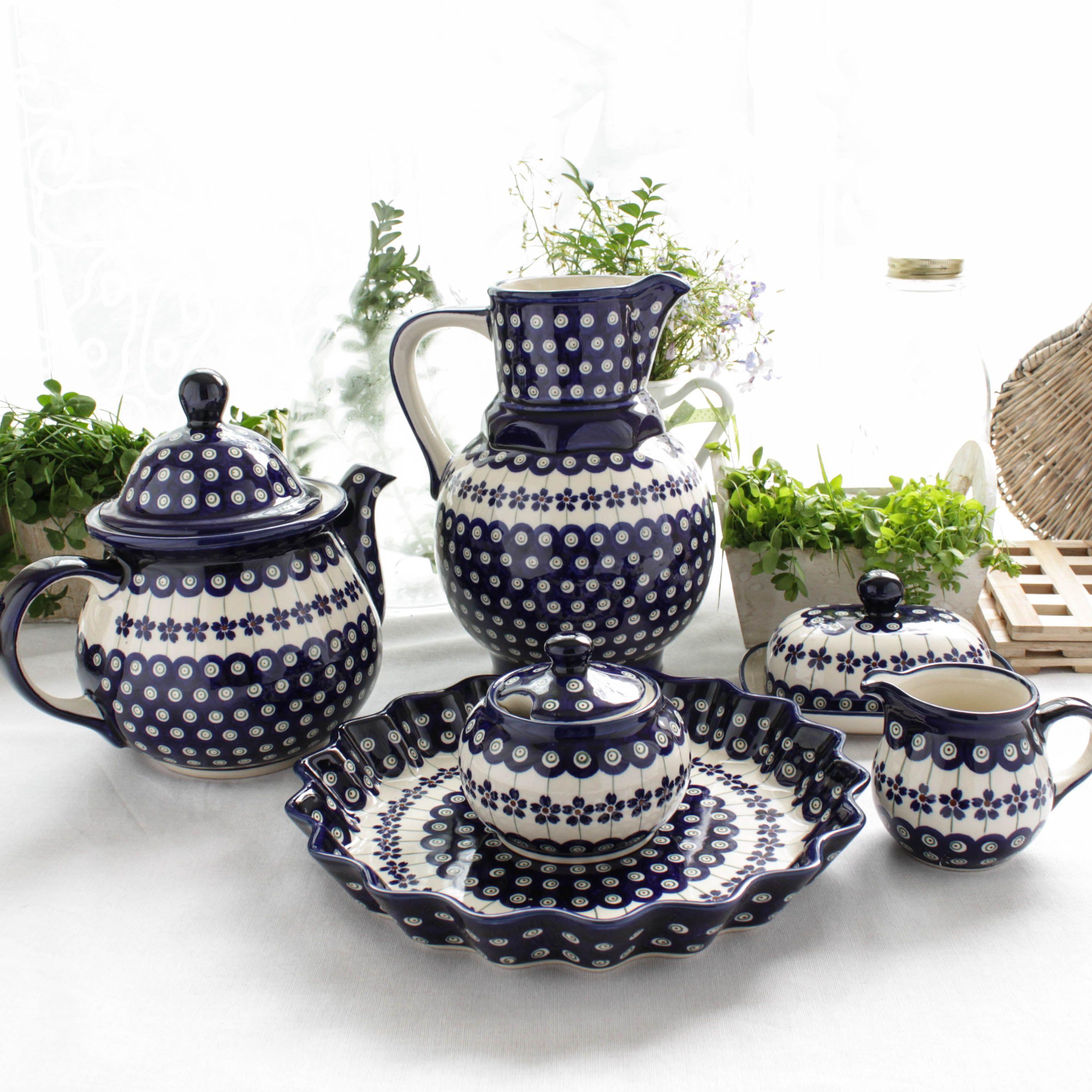 Polish pottery from boleslawiec available from vajillas dinnerware - Vajilla rustica ...