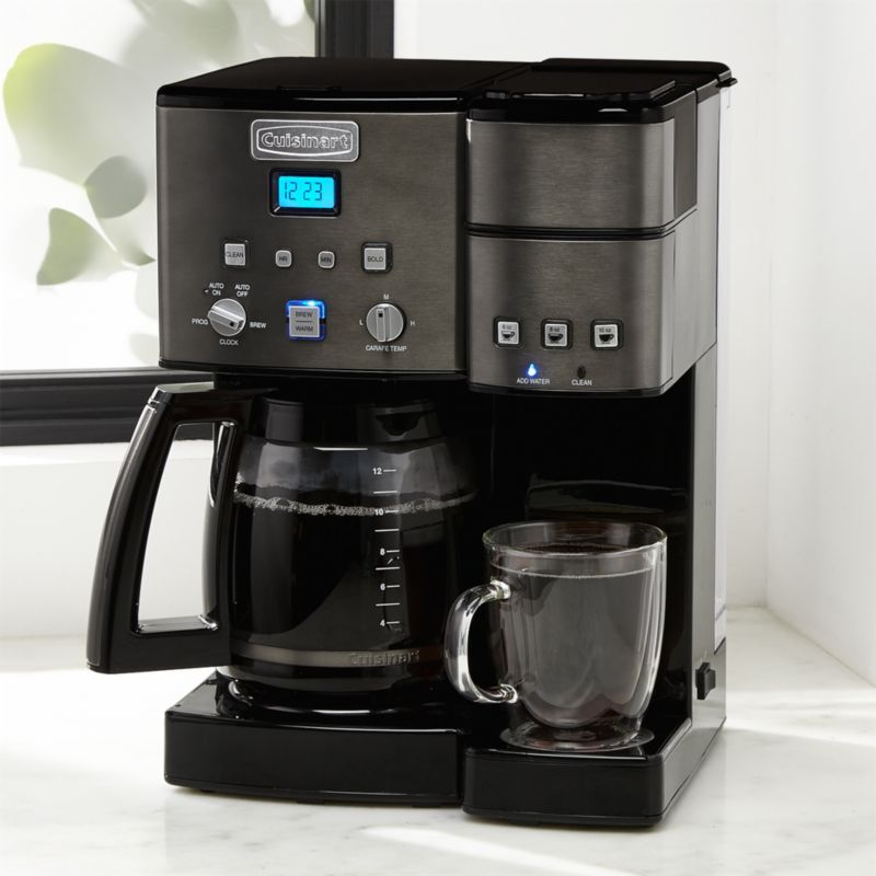 Free Shipping Shop Cuisinart Combi Kcup Carafe Brewer Black Stainless Whether Sipping Solo Or Serving A Crowd You Coffee Maker Miele Coffee Machine Coffee