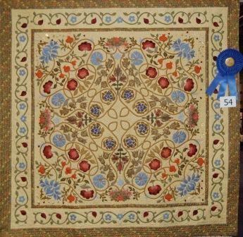 Michele Hill - Gallery amazing applique work based on William ... : william morris quilt patterns - Adamdwight.com