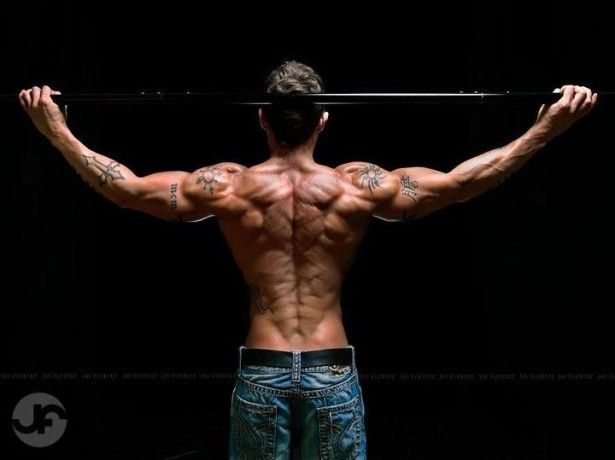 how to get shredded body at home