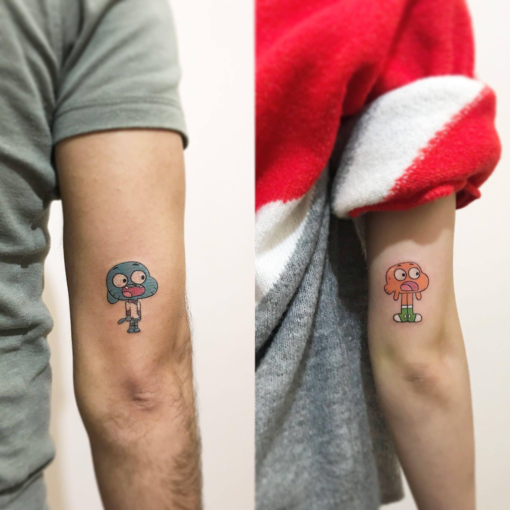Photo of Gumball tattoo #gumballtattoo