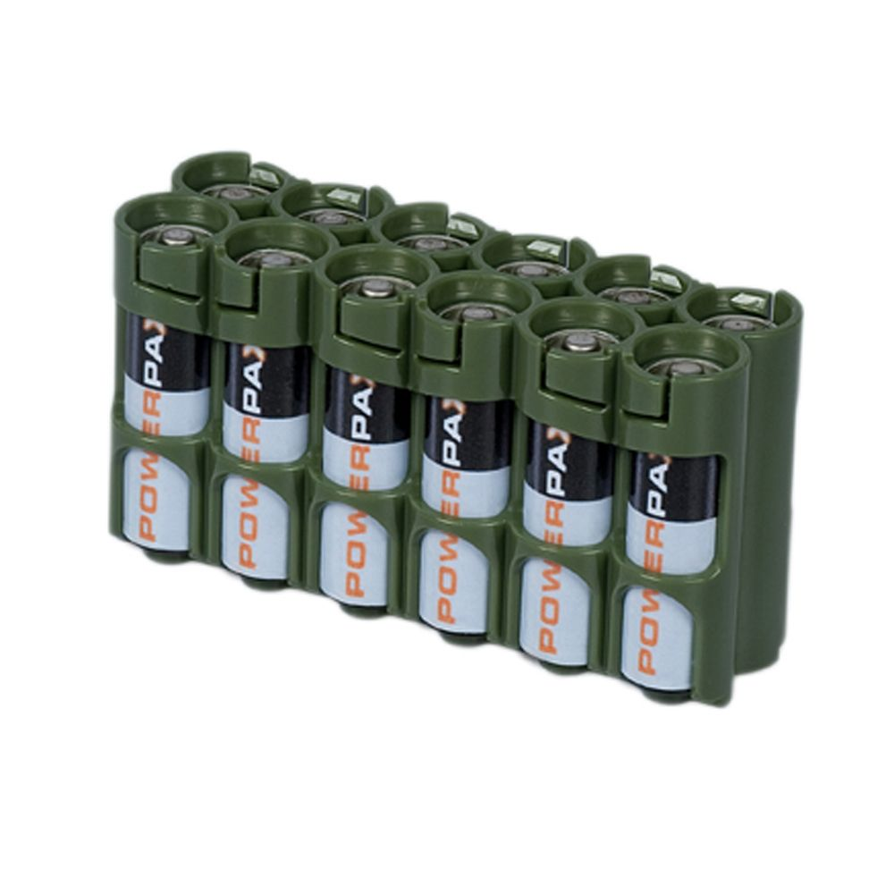 Storacell Offeres A Military Green Color In All Battery Dispenser Styles Battery Military Green Aa Batteries