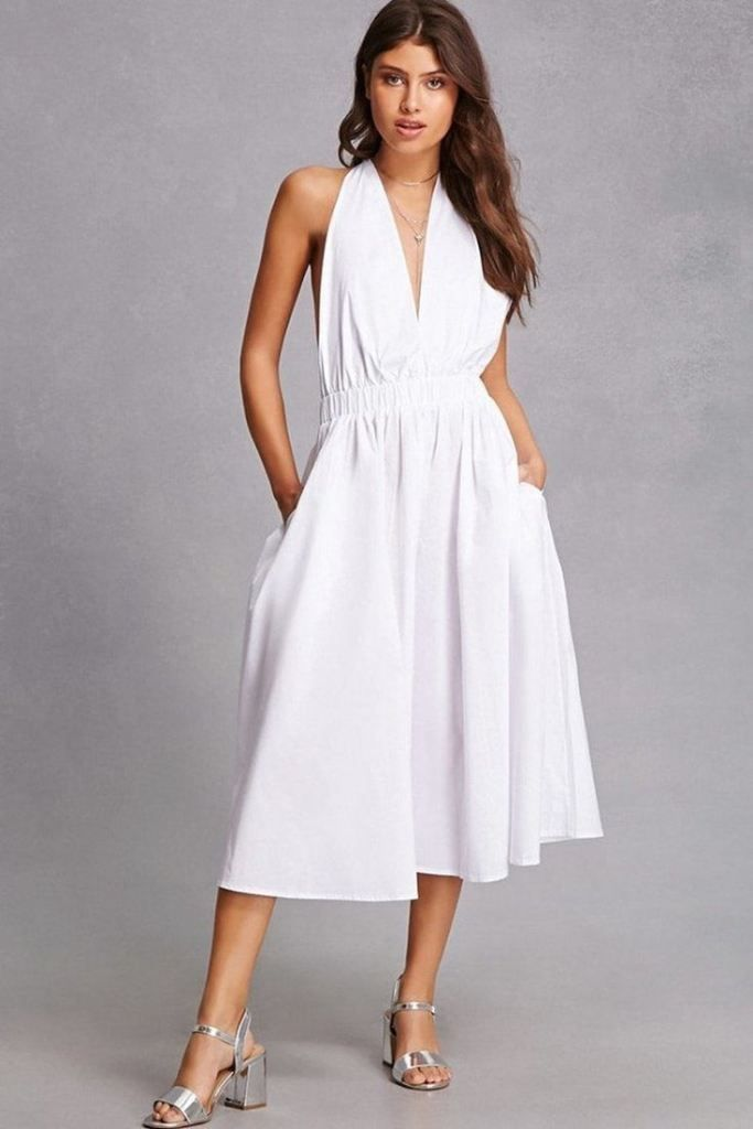 c94533439f47 Easy breezy white dresses. We didn t invent them