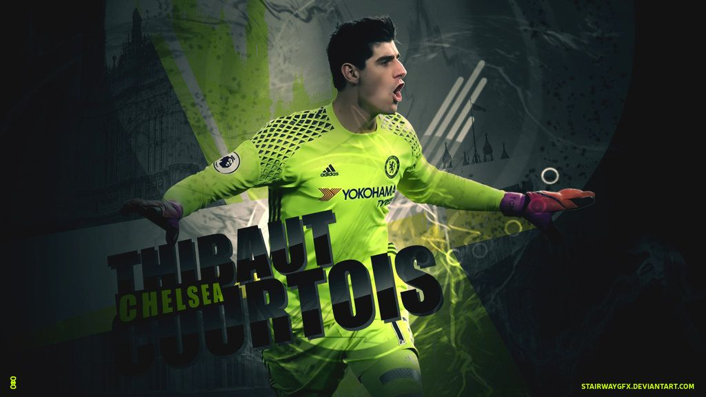 Thibaut Courtois 201617 Wallpaper By Stairwaygfx On Deviantart