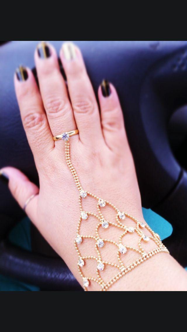 Bisutería señoras Diamante Forma Redonda Bisagra Brazalete