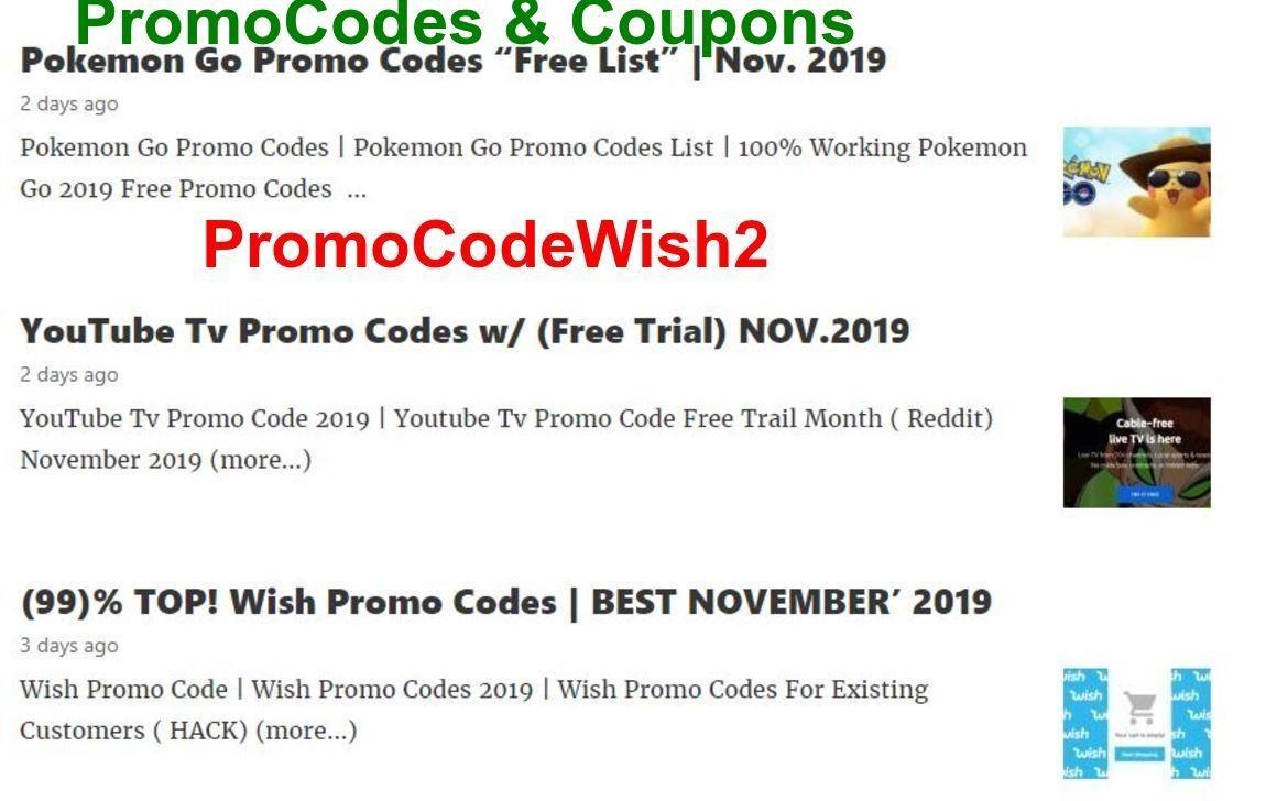 2020 Wish Promo Codes In 2020 Promo Codes Coding Free Promo Codes