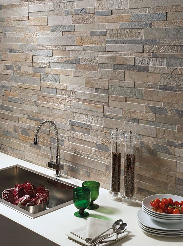 Create A Natural Stone Effect With The Yogi Split Face Style Tiles