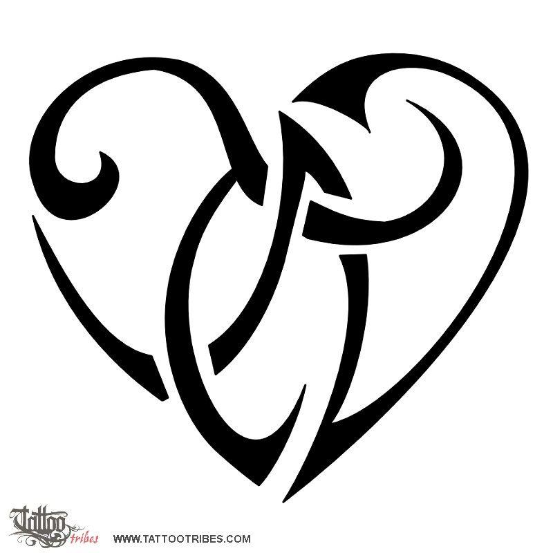 T+N heartigram | Tats | Pinterest | Tattoo, Tatoo designs ...