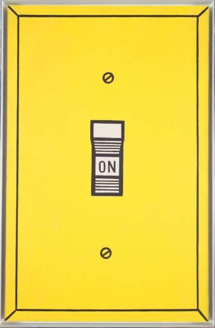 Roy Lichtenstein - On (1961)